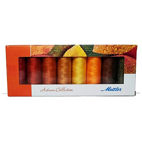 Learn More About Mettler Silk-Finish Spools Cotton Threads (Autumn)