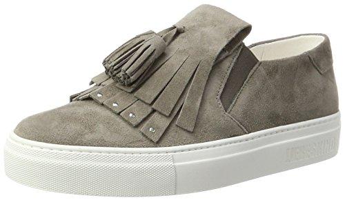 Liebeskind Berlin Damen LH173070-suede Sneaker, Street Grey, 39 EU