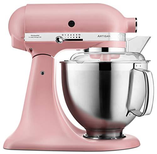 KitchenAid 5ksm185psedr 4,8L Robot de cocina, dried, Rose