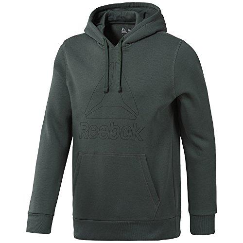Reebok Herren TE Big Logo Sweatshirt, Blau (bunblu), S