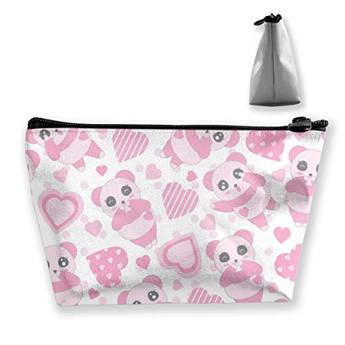 Multi-Functional Print Trapezoidal Storage Bag for Female Children Panda