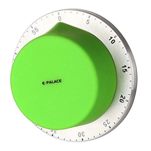 FLAMEER Cocina Portátil Que Cocina La Alarma de La Hornada del Temporizador Mecánico - Verde