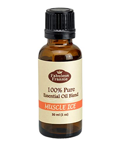 Fabulous Frannie 30ml 100% Pure Essential Oil Blend Muscle Ice made with Cinnamon, Eucalyptus, Clove Bud, Lavender, Orange and Peppermint Essential Oils.