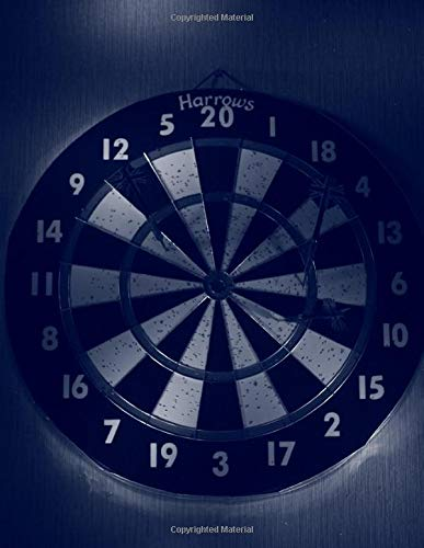 Darts Journal: 200 Pages | Lined | Bullseye Diary