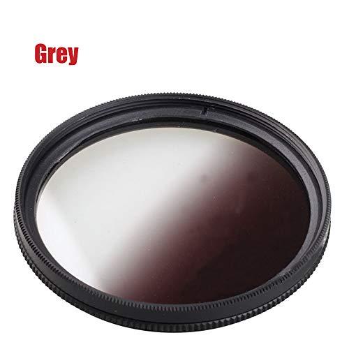 Yunchenghe Filtro de gradiente de Filtro gradiente Gris Degradado 52mm, para Canon Nikon Sony Lente de cámara réflex Digital