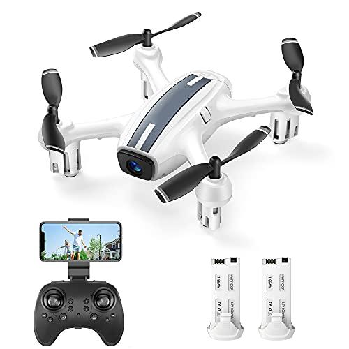 SP360 Drone con Telecamera 720P HD WiFi FPV, Controllo Vocale e Gestuale, Sensore G, Traiettoria di Volo, modalità Senza Testa, modalità Hovering, Adatto ai Principianti e Bambini