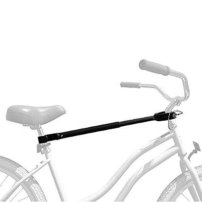"Retrospec Bike Rack Cross-Bar Top Tube Adjustable Adapter, Black, 18""-28"" (3545)"