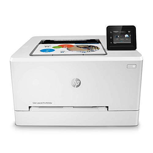 HP Color Laserjet Pro M255dw Wireless Laser Printer, Remote Mobile Print, Duplex Printing (7KW64A), White, One Size (7KW64A#BGJ) (Renewed)