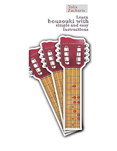 Learn Bouzouki with Simple and Easy Instructions (English Edition)
