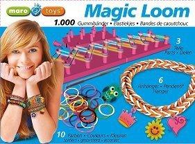 Magic Loom Bands - Geschenkbox 100 Ringe