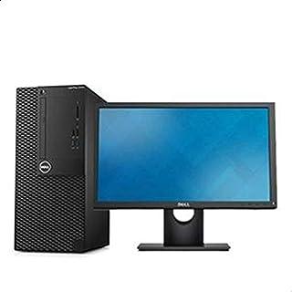 كمبيوتر ديل 3050 ام تي بي سي كور i3 الجيل السابع 4 جيجا 500 جيجا دوس مع شاشة ديل E1916H ال اي دي
