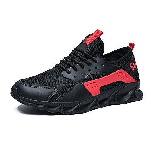 CXQWAN Chaussures de Marche légères pour Homme Antidérapant Résistant à l'usure Convient pour la Marche, la Gym, Le Jogging, Le Fitness athlétique, Beige, 42