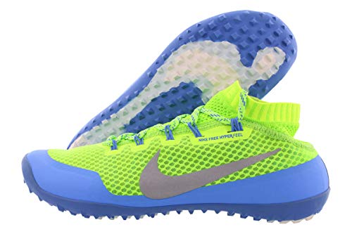 Nike Womens Free Hyperfeel Trail Authentic Shoes Sneakers Flash Lime/Reflective Silver/Distance Blue (8)