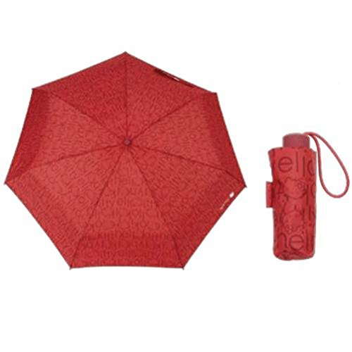Parapluie Hello Kitty rouge retractable
