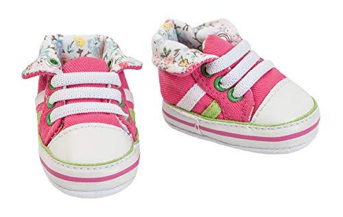 Heless 4461 - Sneaker für Puppen, pink, Größe 30 - 34 cm