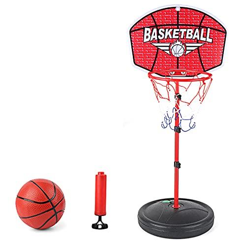 TANTAO Kinder Basketballkorb, 150 cm Höhenverstellbar Basketball Ständer Kinder Spiel Trainingsgeräte Set für Indoor Outdoor