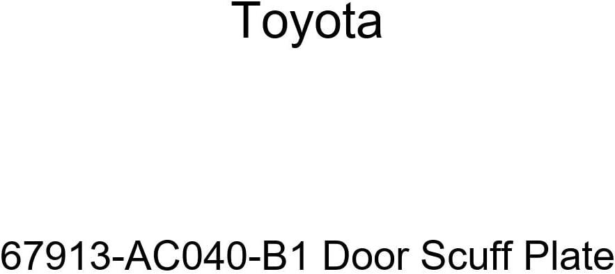 TOYOTA Genuine low-pricing 67913-AC040-B1 Plate Scuff Columbus Mall Door