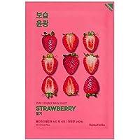 Holika Holika - Mascarilla Iluminadora 20 ml - Ampoule Mask Sheet - Strawberry - 1 unidad