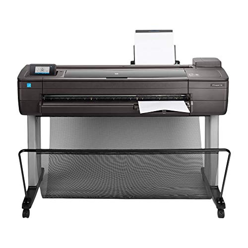 small HP DesignJet T730 Wide Format Wireless Plotter – 36 inches. With safety function (F9A29A)