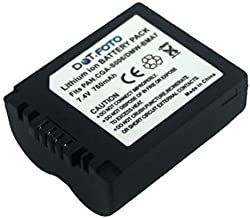 Panasonic CGR-S006E  DMW-BMA7 PREMIUM Replacement Rechargeable Camera Battery from Dot Foto 7 4v 760mAh Year Warranty  See Description for Compatibility