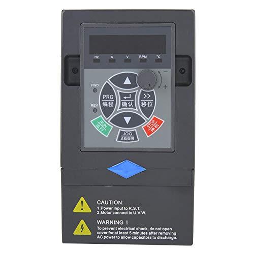 DAUERHAFT VFD Frequenzumrichter Variable Frequenz 380V 2.2KW Pumpen, Lebensmittelmaschinenmischer, Kugelmühlen