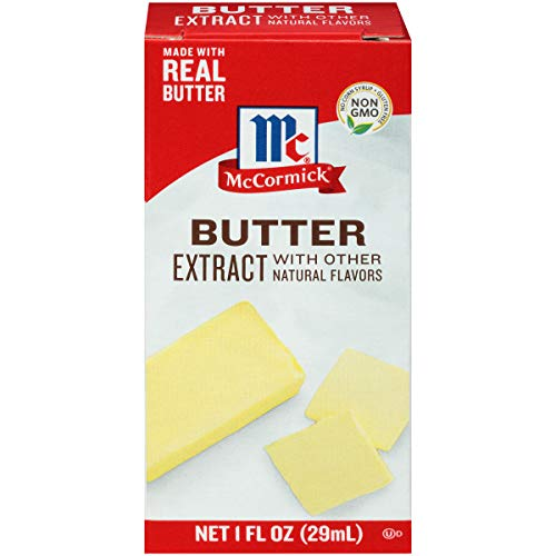McCormick Butter Extract With Other Natural Flavors, 1 fl oz
