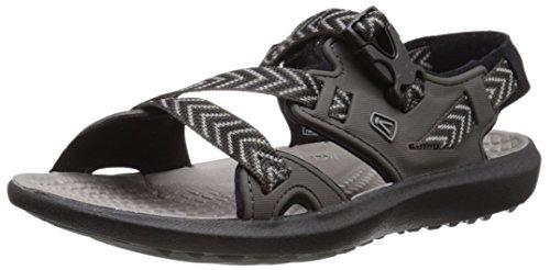 Keen KEEN W Maupin Schwarz, Damen Sandale, Größe EU 37.5 - Farbe Raven - Gargoyle