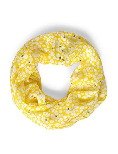 STREET ONE Damen 571179 Mode-Schal, shiny yellow, One Size