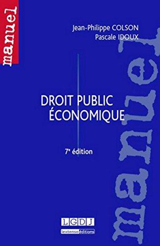 Droit public économique, 7ème Ed