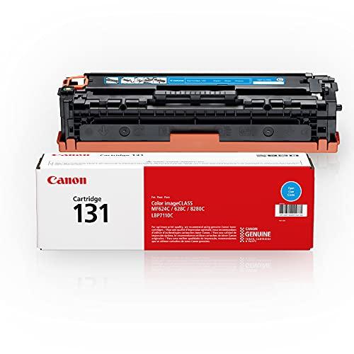 Canon Genuine Toner Cartridge 131, Cyan