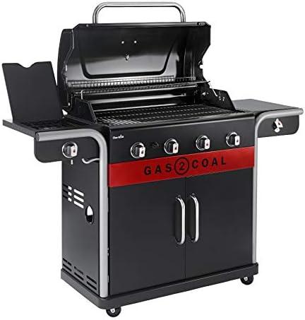 Char-Broil Gas2Coal 440 Barbecue à gaz hybride Noir