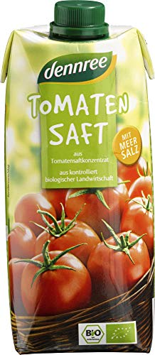 dennree Bio Tomatensaft (6 x 500 ml)