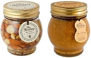 【2種セット】MY HONEY ナッツの蜂蜜漬け 200g & ピーナッツハニー 200g