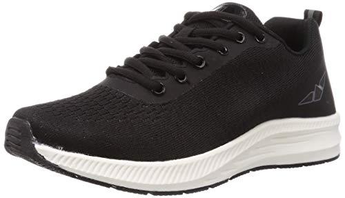[エー・ディー・ワン] ランニングシューズ、ジョギングシューズ、運動靴 スパイダーII メンズ ADS-023 ブラック 27 cm