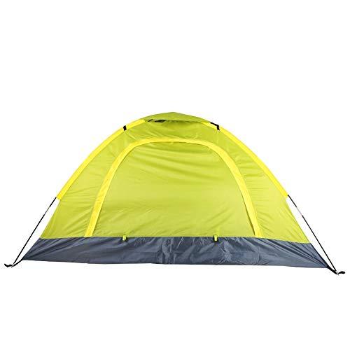 Tihebeyan campingtent voor zomer, licht en anti-insecten, bovenlicht, dubbele laag, voor outdoorvissen, kamperen, wandelen, grasgroen