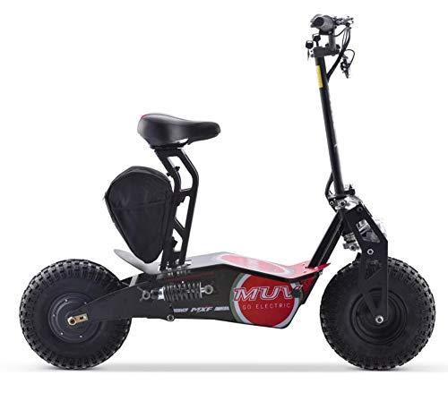 Patinete Elétrico Scooter MUV 1000w MXF Vermelho