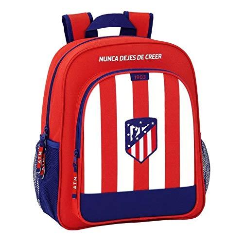 Safta Mochila Escolar Junior Atlético De Madrid Oficial 320x120x380mm