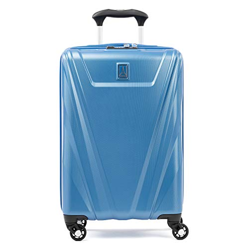 Travelpro Maxlite 5-Hardside Spinner Wheel Luggage, Azure Blue, Non-Expandable Carry-On 21-Inch