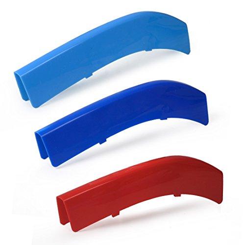 Eastar M Farbe Sport Front Kunststoff Niere Grill Bar Abdeckung Streifen für BMW 5er F10 F18