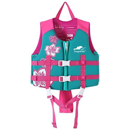 Kinder Schwimm Weste - Kleinkind Schwimm Hilfer Float Suit Bojenanzug Jungen Mädchen Bademode Bojen-Badeanzug UV-Schutz