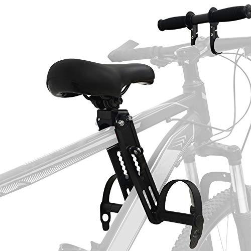 Asiento de Bicicleta para Niños con Manillar de Bicicleta , Compatible con Todos los Adultos MTB, Sillas de Bicicleta de Montaña para Niños de 2-7 Años(hasta 48 Libras)