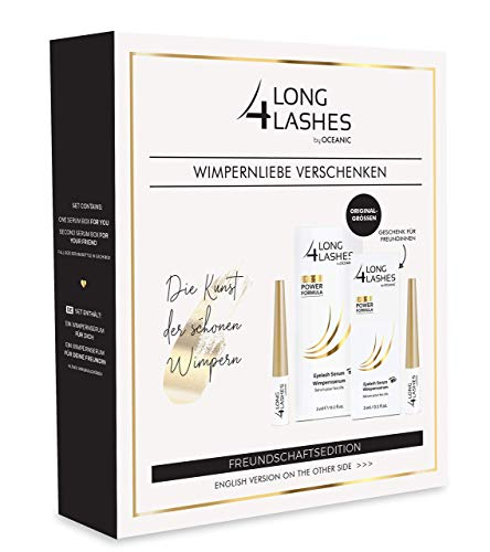 Long4Lashes FX5 Wimpernserum Freundschaftsedition 2 x 3 ml (Doppelset)