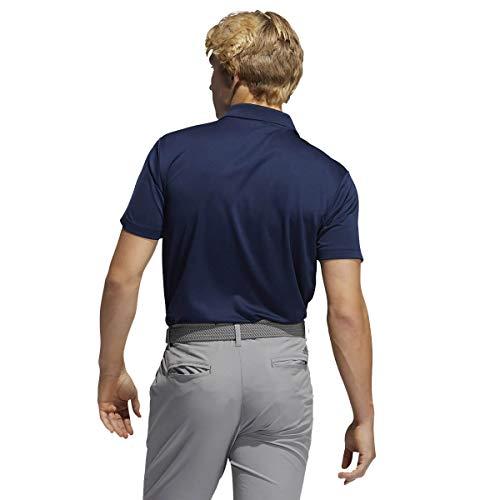 adidas Golf Mens Performance Polo Shirt - Collegiate Navy - L