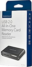 Insignia - USB 2.0 All-In-One Memory Card Reader