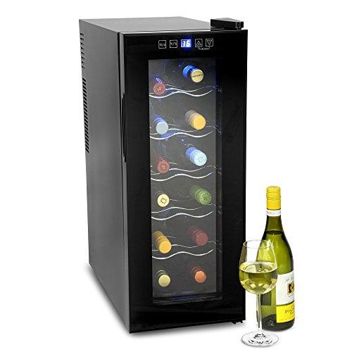 bar@drinkstuff VinoTech 12 Bottle Wine Cellar - 35 Litre Digital Wine...