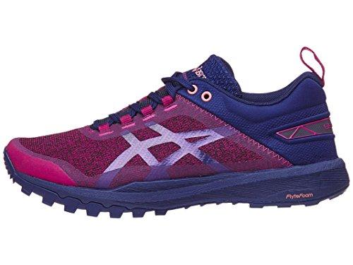 ASICS Women's Gecko XT Running Shoe Baton Rouge/Indigo Blue/Begonia Pink 5 (S)