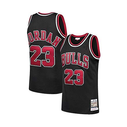 Hombres de Baloncesto Jersey # 23 Michael Jordan Chicago Bulls Breathing Kit de Malla Deportes Jersey Kits Top Pantalones Cortos Chaleco Clásico Unisex Ropa Deportiva, Neutral, Niños, color a, tamaño M (175 cm)