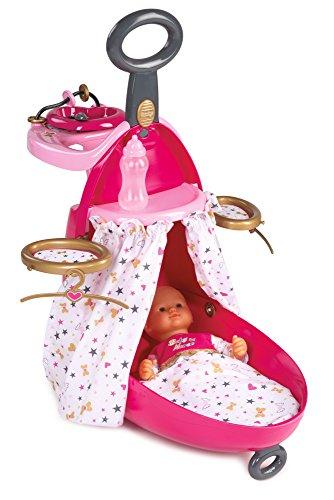 Trolley nursery 2en1 para munecos bebe de Baby Nurse (Smoby 220316)