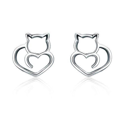 Europese en Amerikaanse Mode Sieraden-925 Sterling Zilver Reizen Vliegtuig Reizen Droom Stud Oorbellen voor Vrouwen Sterling Zilver Sieraden, Thumby 5#