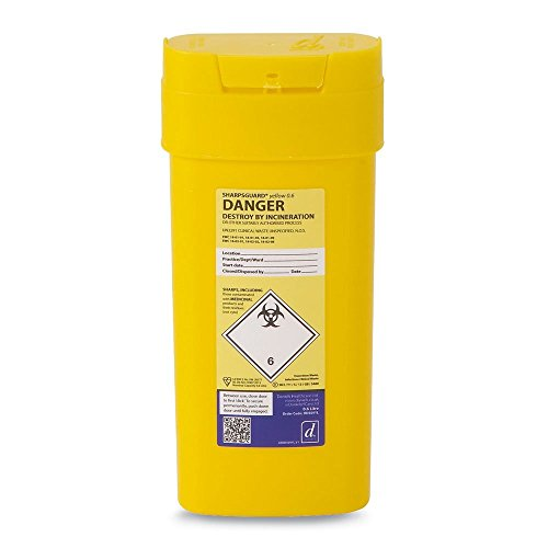 Reliance Medical 0.6 Litre Sharps Container